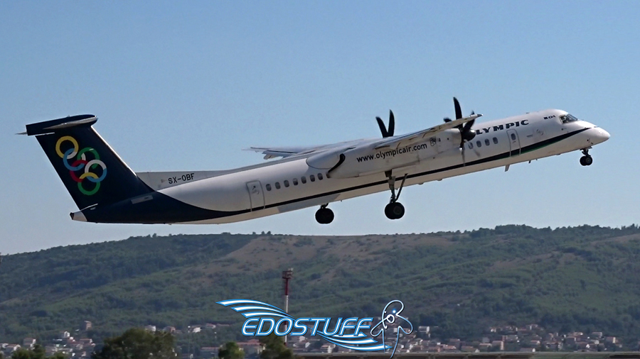 Olympic Air Bombardier Q400