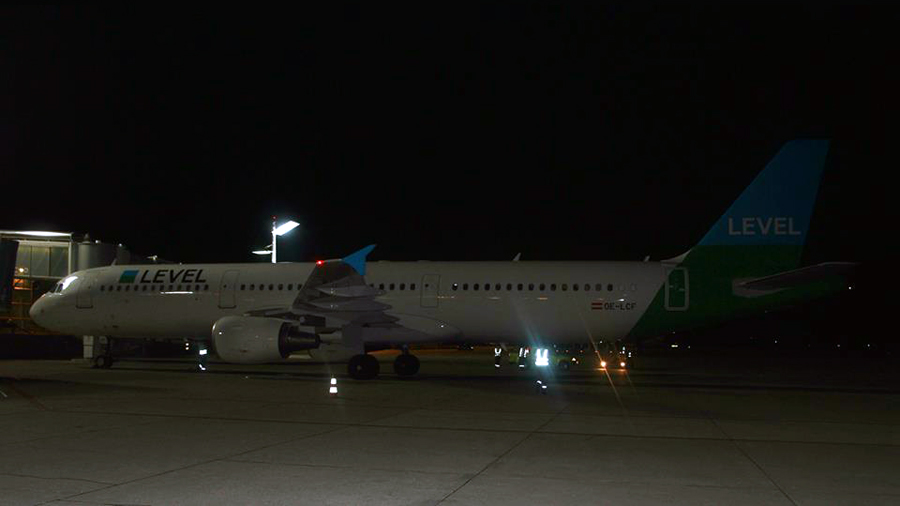 Level (Anisec) Airbus A321