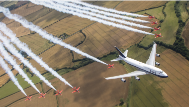 Read more: British Airways and The Red Arrows meet again
