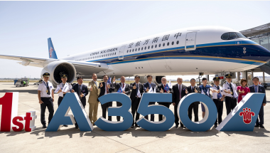 Read more: China Southern Airlines takes delivery of its first Airbus A350-900