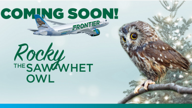 Read more: Rocky the Owl to be Featured on a Frontier Airlines Plane Tail