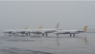 Read more: Air Traffic April 14th 2020: Snow at Zagreb Airport
