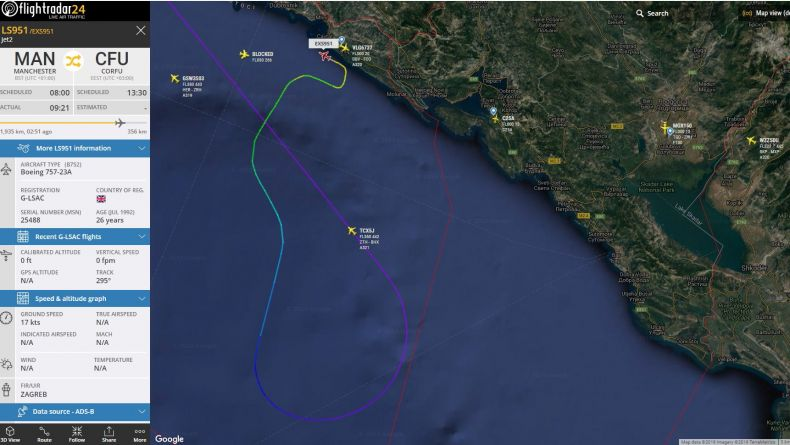 Read more: Jet2 on a flight to Corfu diverted to Dubrovnik