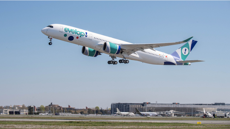 Read more: Evelop Airlines takes delivery of its first A350 XWB