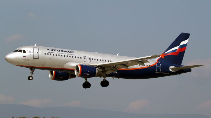 Aeroflot Russian Airlines Airbus A320