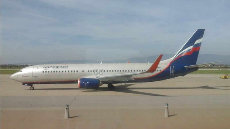 Aeroflot Russian Airlines Boeing 737-800