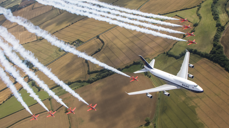 British Airways i Red Arrows