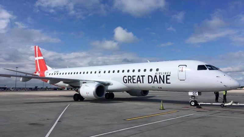 Great Dane Airlines Embraer ERJ-195