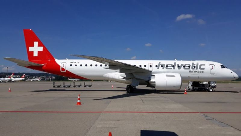 Helvetic Airways Embraer ERJ-190-E2