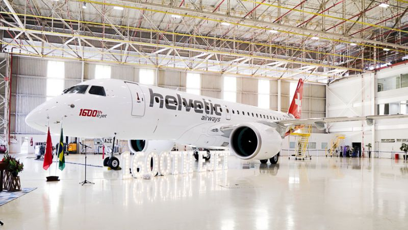 Foto: © Embraer / Helvetic Airways