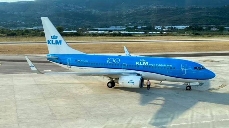 KLM Royal Dutch Airlines Boeing B737-700