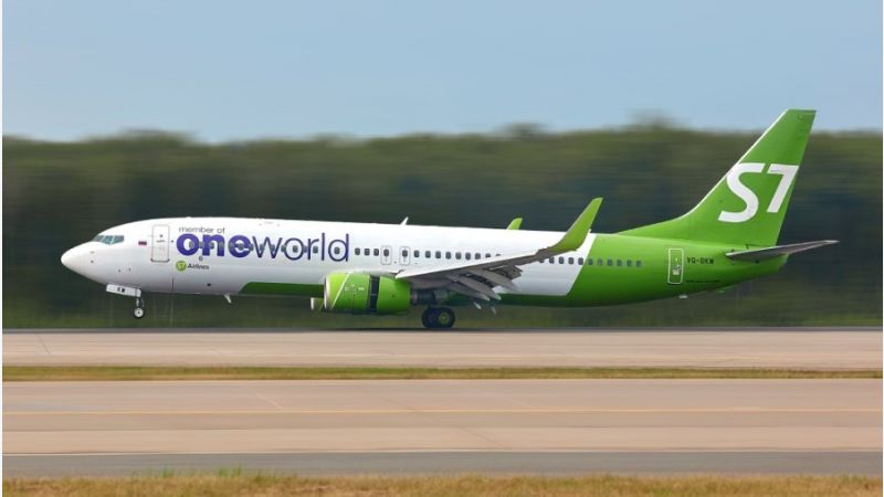 S7 Airlines Boeing 737-800