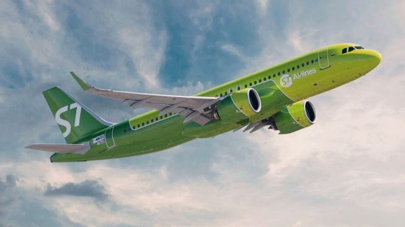 S7 Airlines Airbus A320Neo