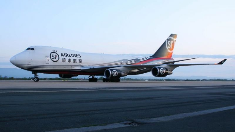SF Airlines Boeing 747-400F Jumbo Jet