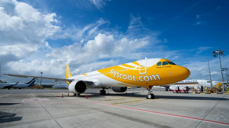 Scoot Airbus A321neo