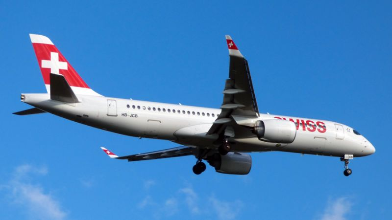 Swiss Air Lines Airbus A220-300