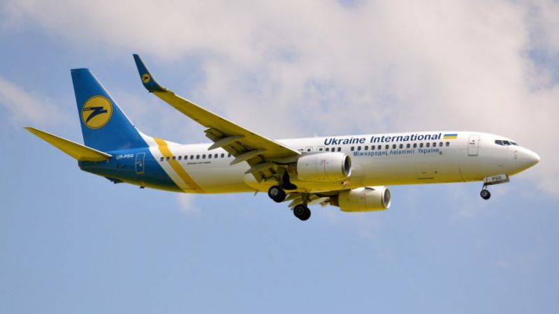 Ukraine International Airlines Boeing 737-800