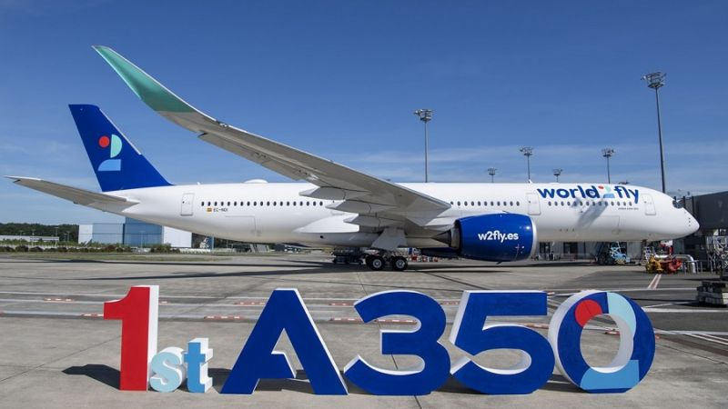 World2fly Airbus A350-900