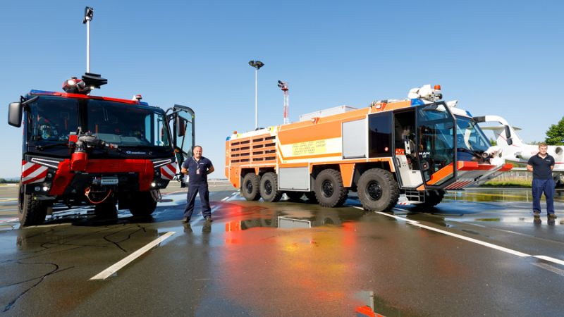 Zagreb AIrport Firefighters