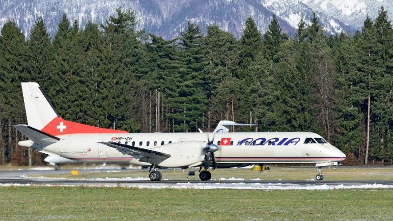Adria Airways Swiss Saab S-2000