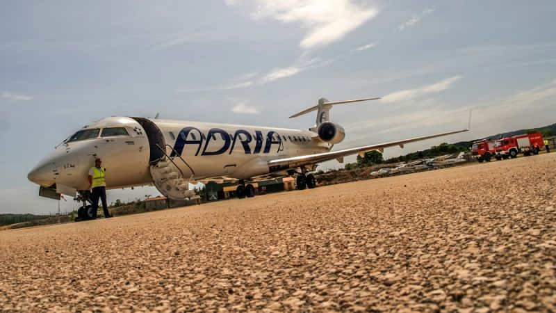Adria Airways Canadair CRJ-700