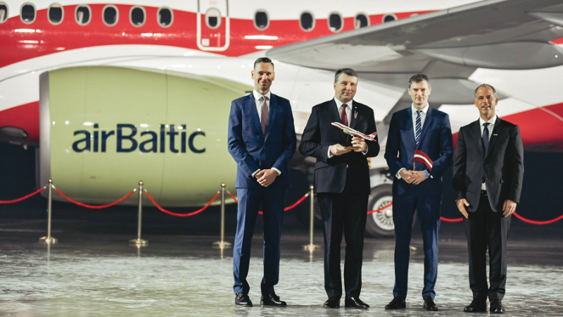 airBaltic special livery