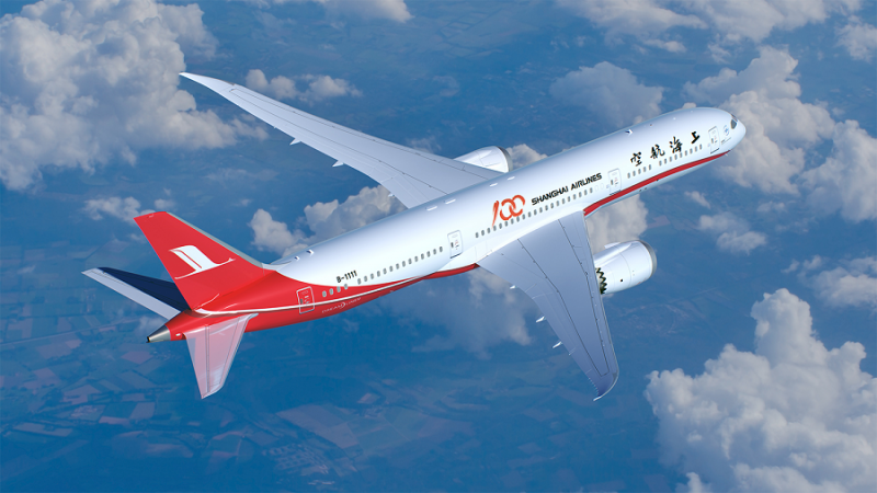 Shanghai Airlines 787