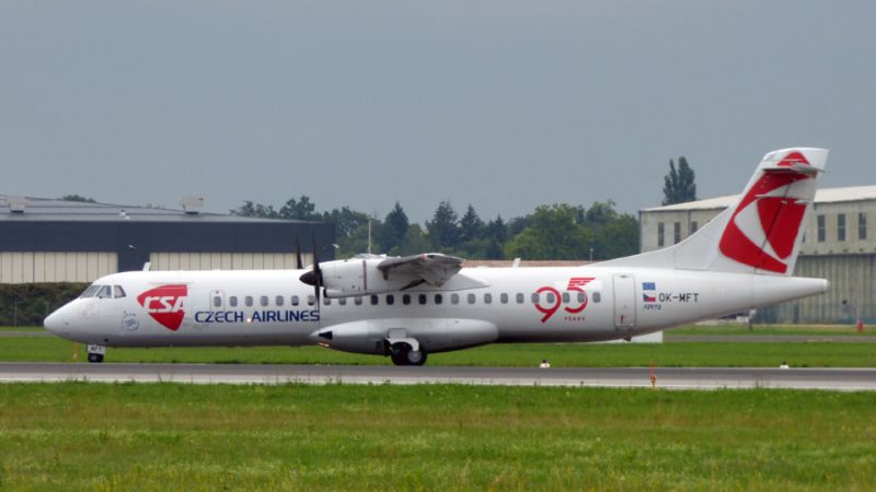 ČSA Czech Airlines ATR-72