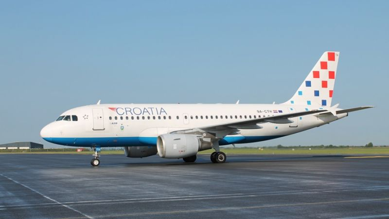 Croatia Airlines - Airbus A319