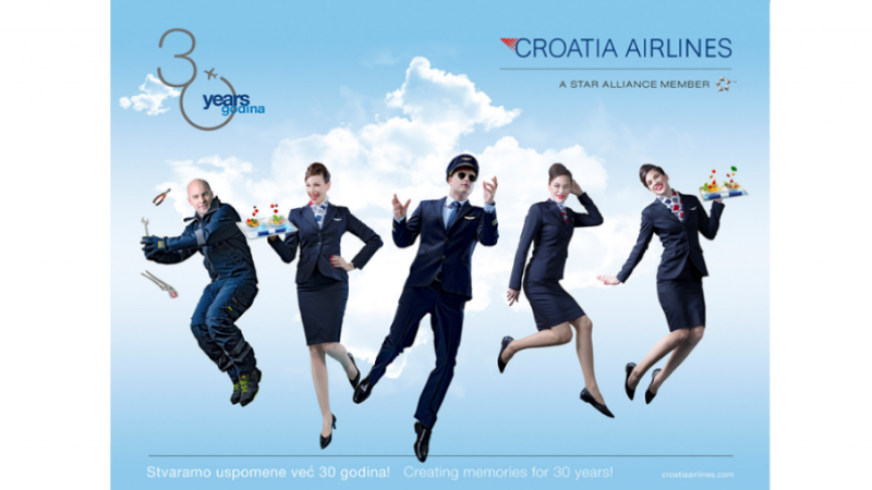 Croatia Airlines - 30 godina