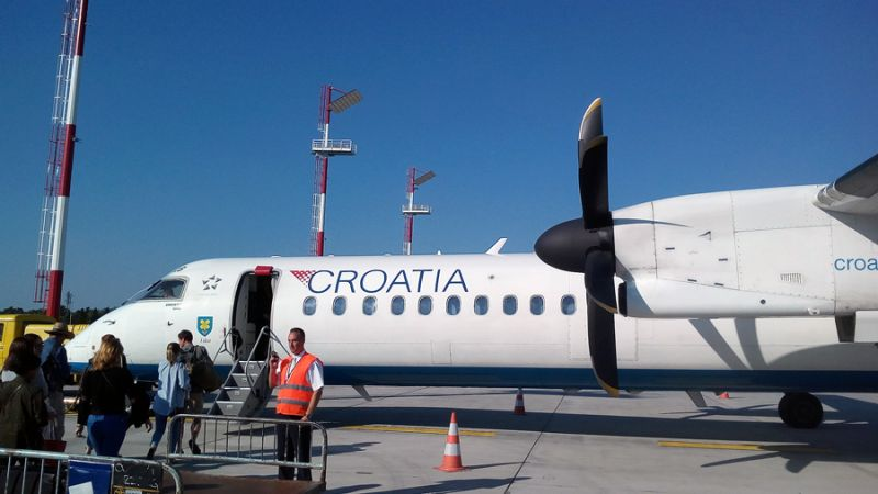 Croatia Airlines Dash 8 Q400