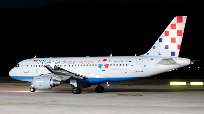 Airbus A319 9A-CTL