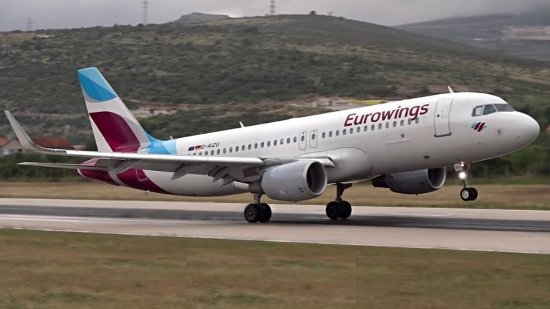 Eurowings Airbus A320