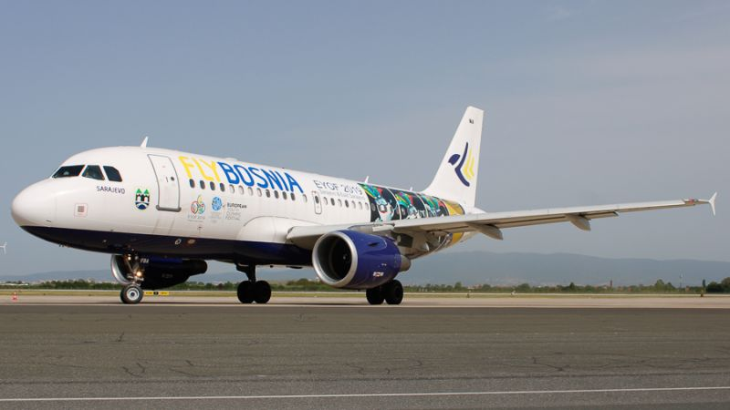 FlyBosnia Airbus A319