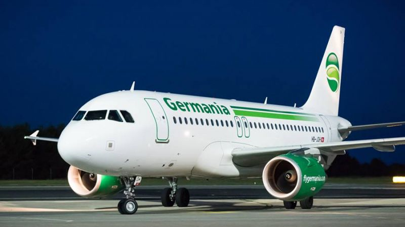 Germania Flug Airbus A319