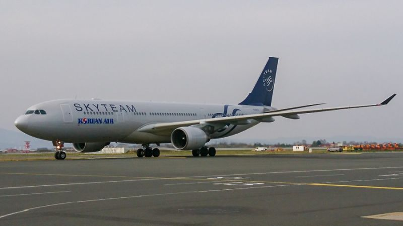 Korean Air SkyTeam Airbus A330-200