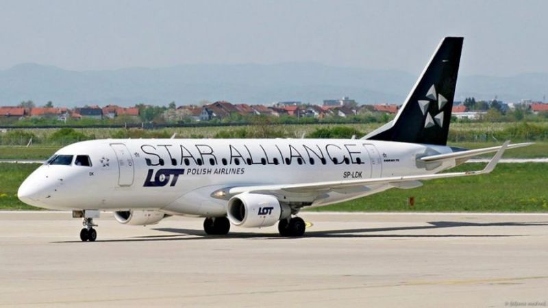 LOT Polish Airlines Embraer ERJ-170