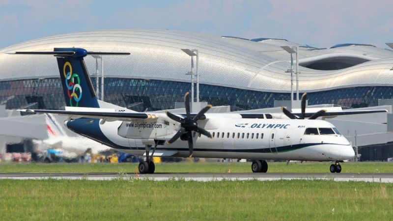 Olympic Air - Bombardier Q400