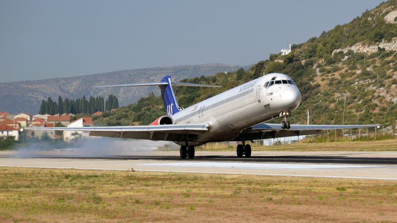 SAS Scandinavian Airlines MD-81