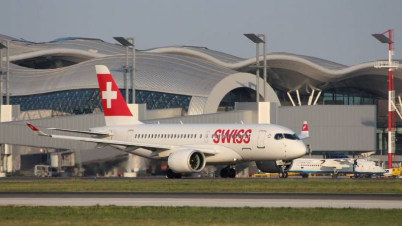 Swiss Air Lines Bombardier CSeries CS100