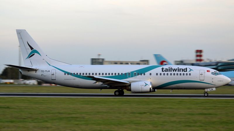 Tailwind Airlines Boeing 737-400