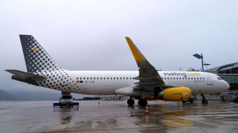 Vueling Airbus A320 Dubrovnik